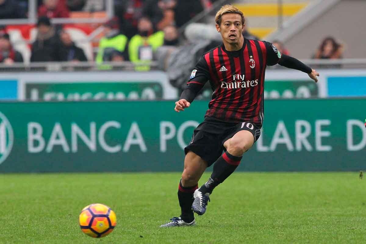 LAFC está en negociaciones con Keisuke Honda