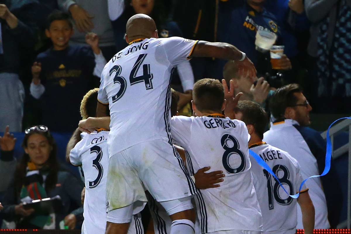 Los Angeles Galaxy ganó a DC United