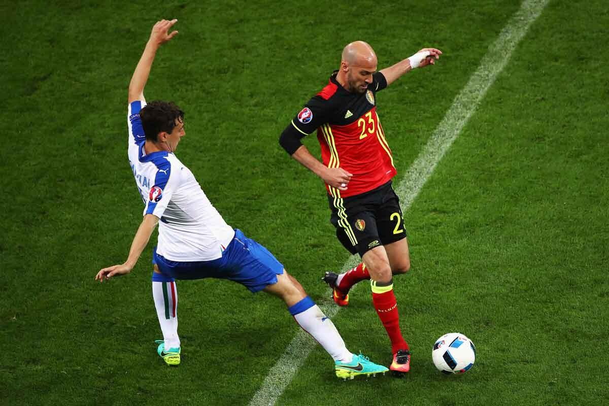 Ciman debuta con belgica en la eurocopa