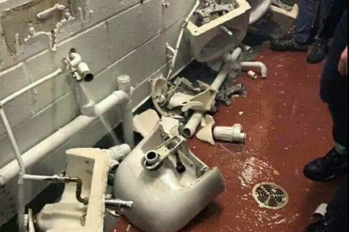 Lavabos Old Trafford