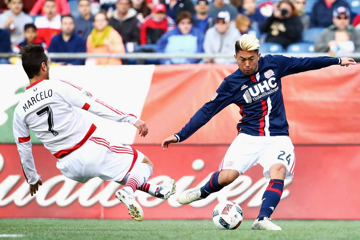 Lee Nguyen, del New England Revolution