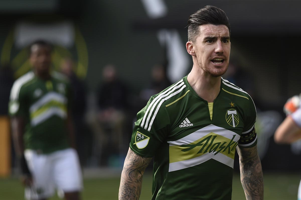 Liam Ridgewell, central de Portland Timbers