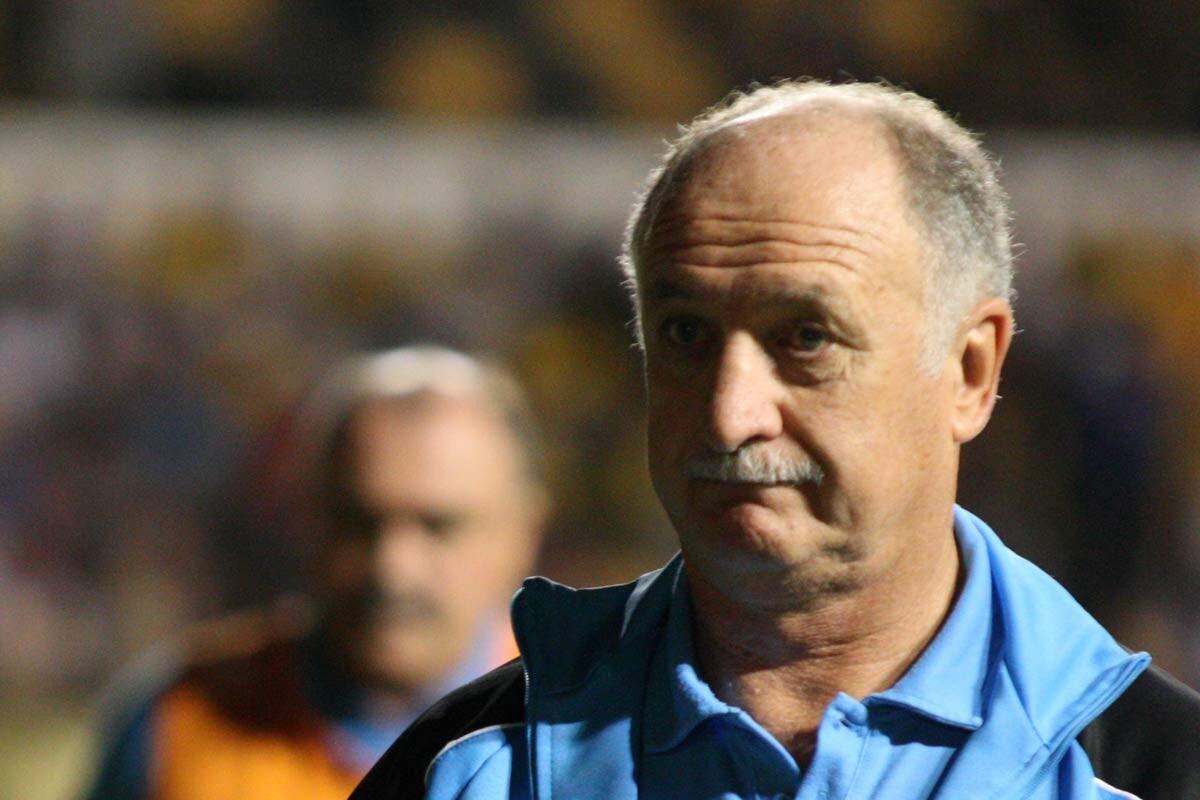 Luiz Felipe Scolari, entrenador de Guanghzou Evergrande