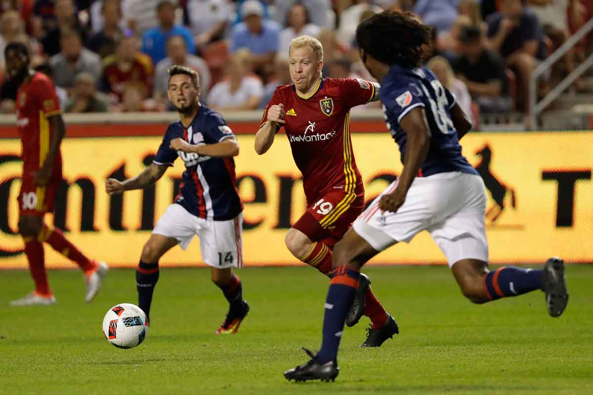 Luke Mulholland salva un punto para Real Salt Lake