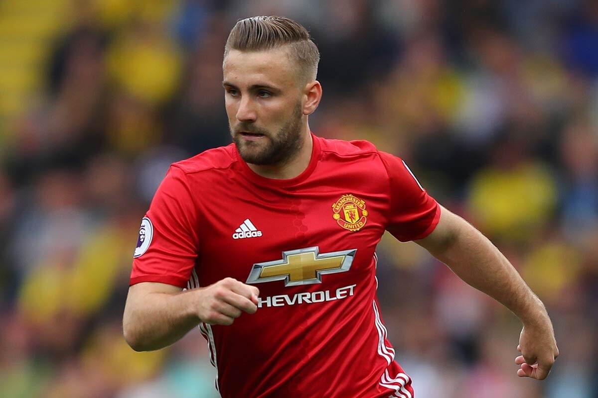 Luke Shaw, del Manchester United