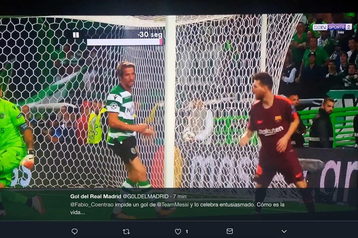 Los mejores memes del Sporting CP-Barça