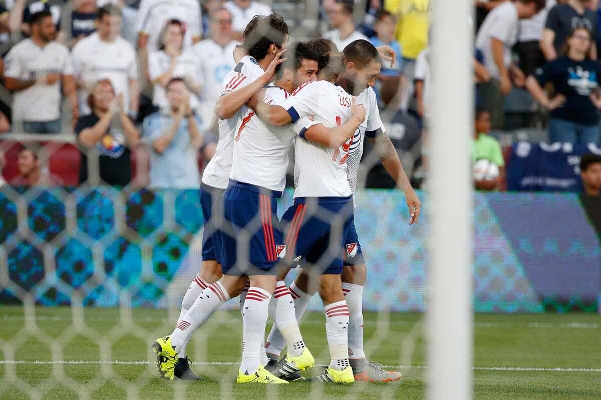 Real Madrid venció a las estrellas de la MLS