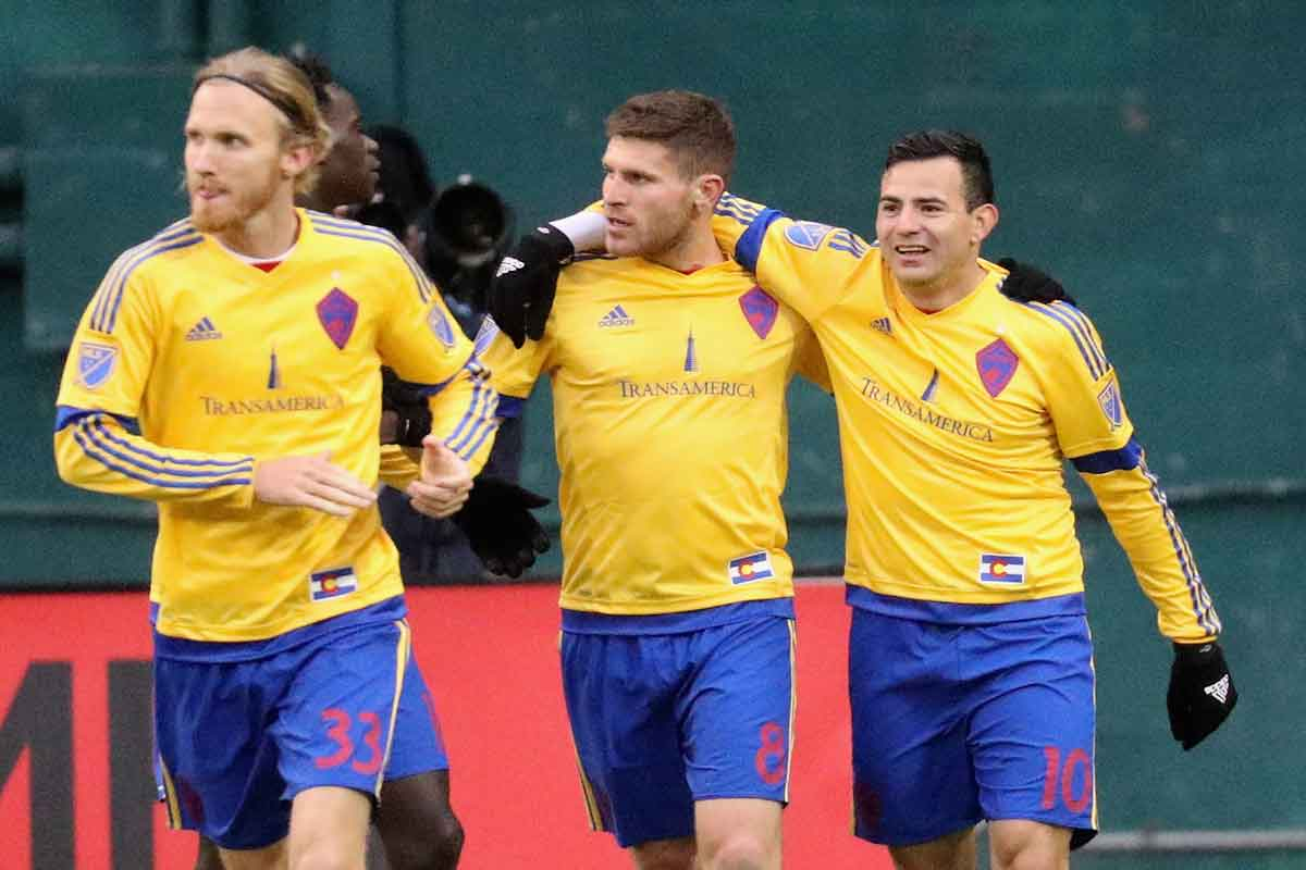Colorado Rapids venció a Chicago