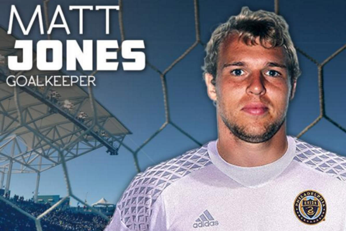 Matt Jones, portero de Philadelphia Union