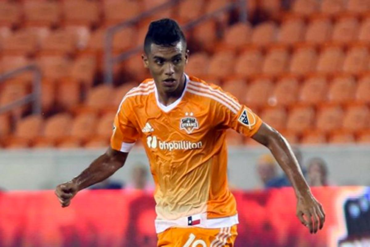 Mauro Manotas, de Houston Dynamo