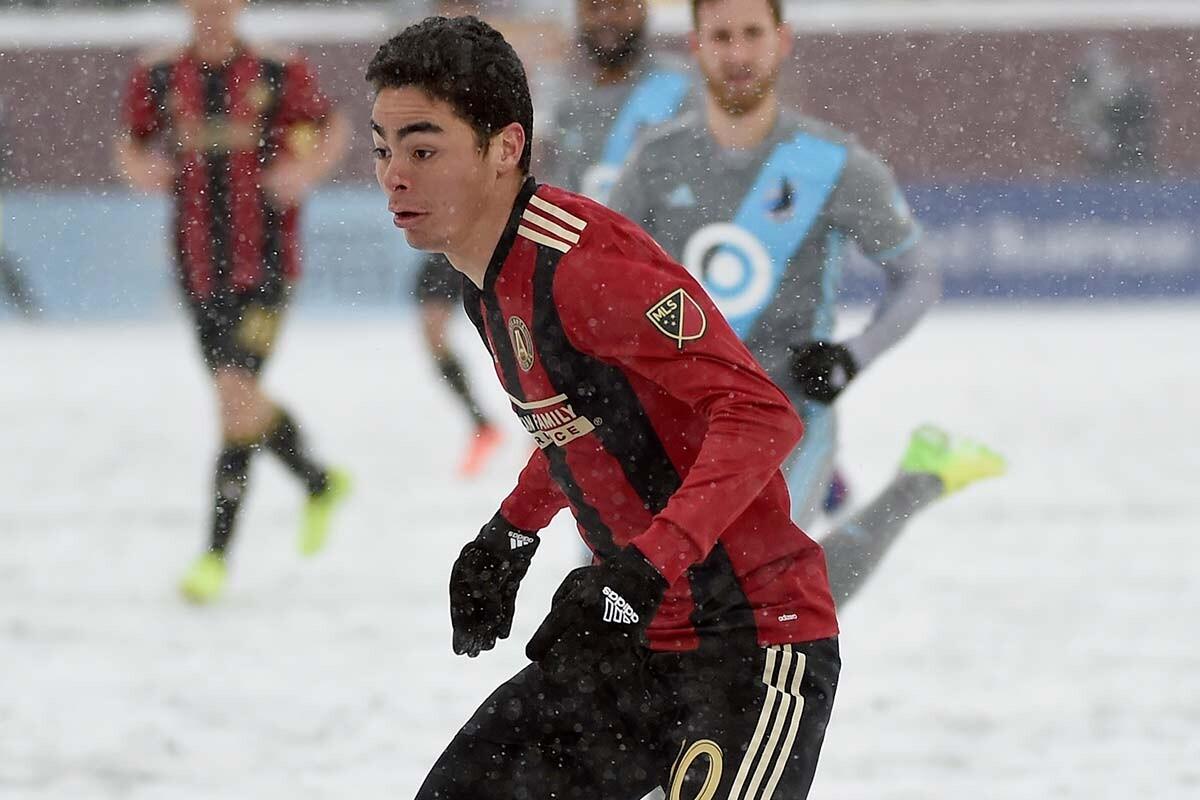 Miguel Almiron, de Atlanta United