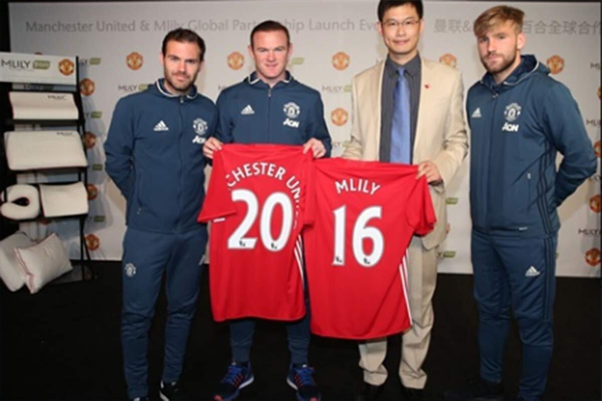 El Manchester United encuentra un nuevo patrocinador en China