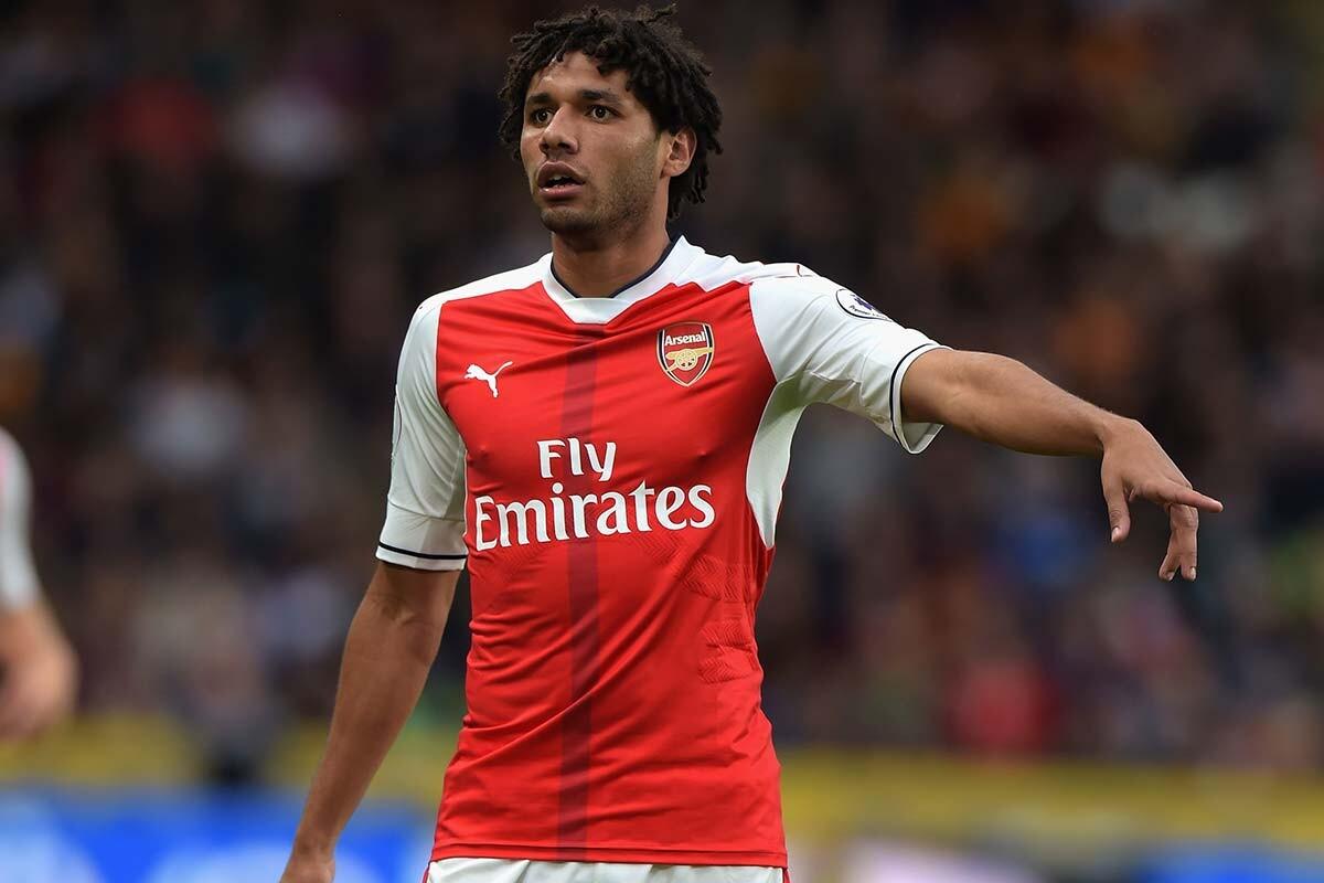 Mohamed Elneny, centrocampista del Arsenal