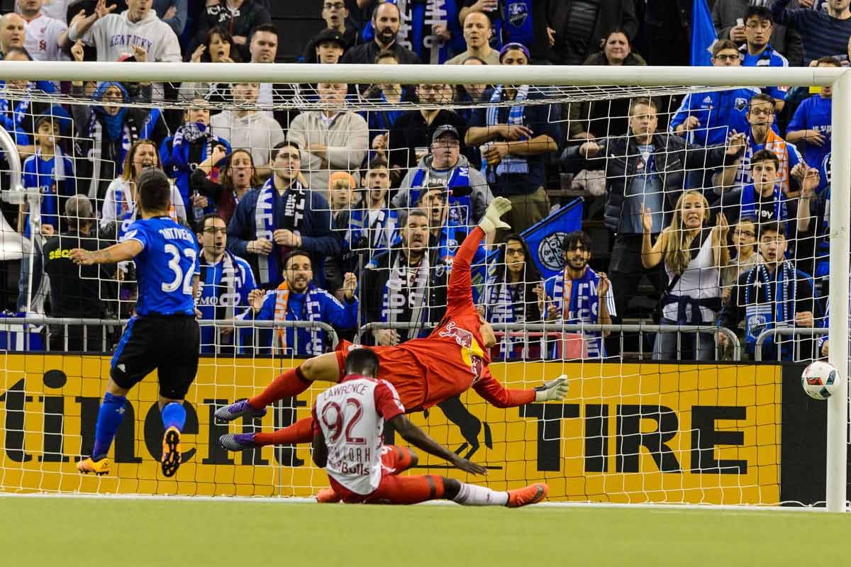 Montreal le ganó 2-0 a New York Red Bulls