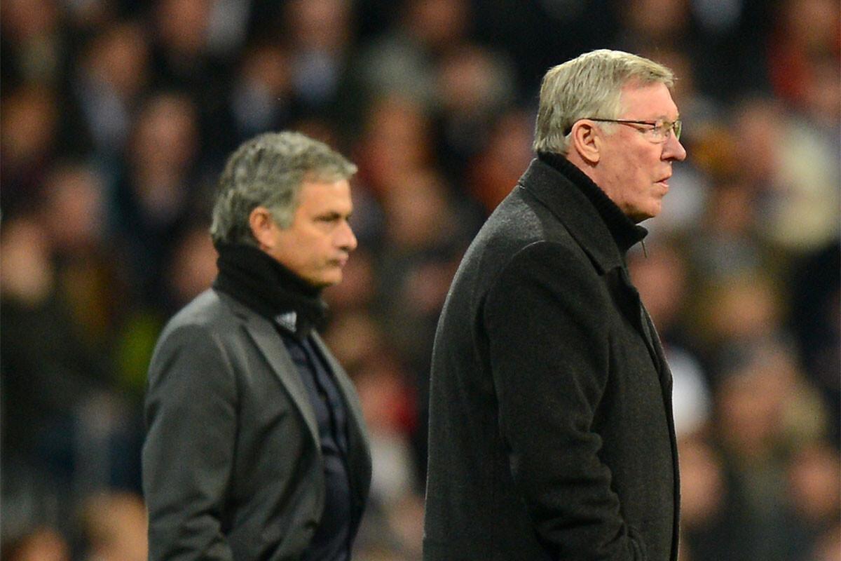 Alex Ferguson, Jose Mourinho