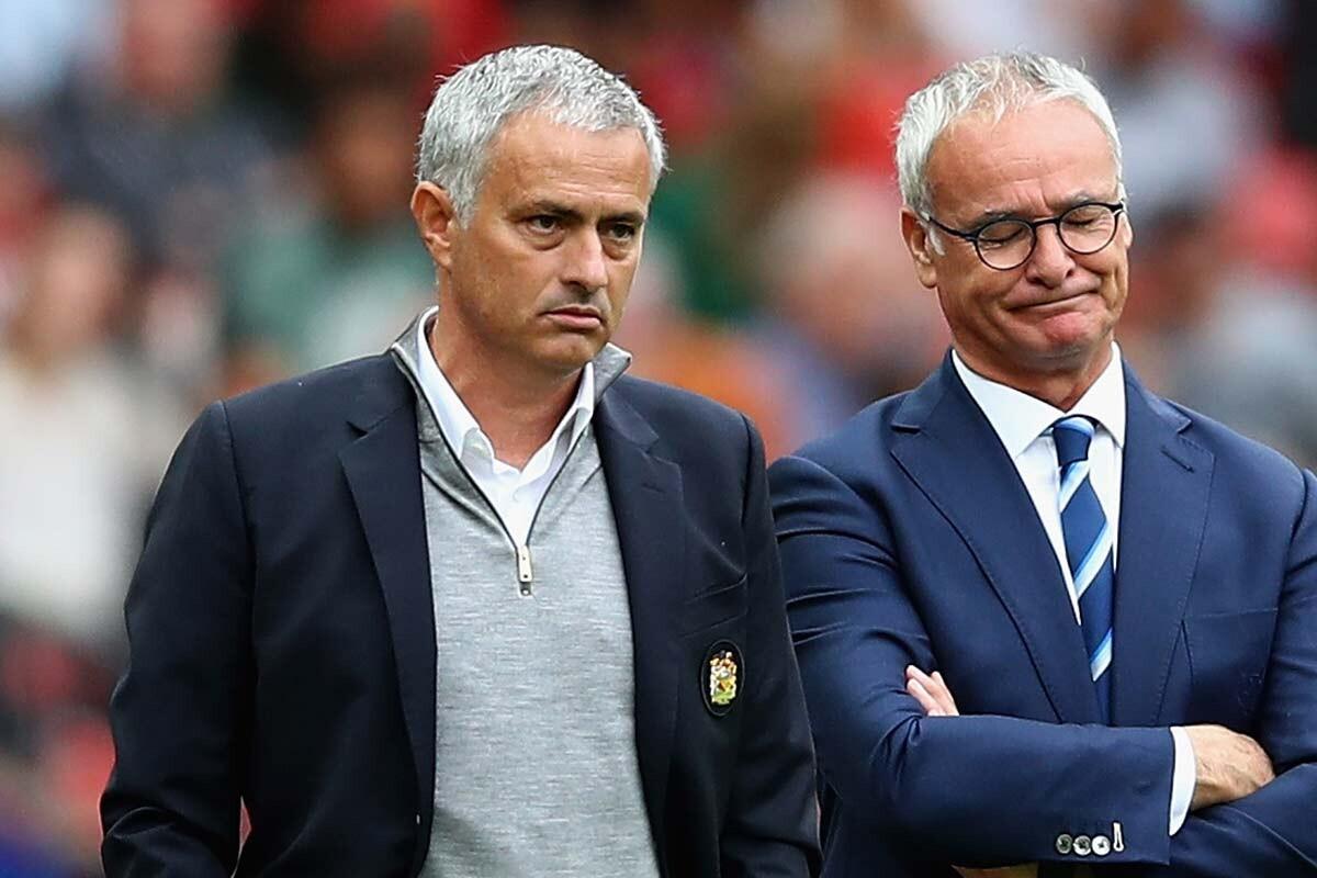 Mourinho y Ranieri