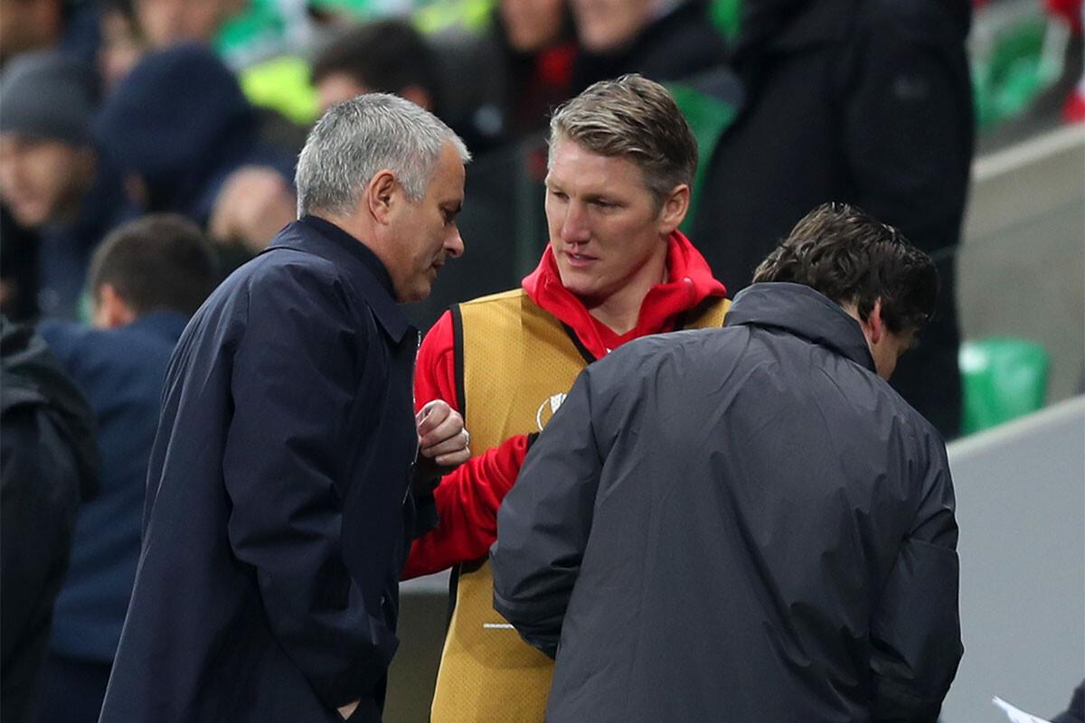 Jose Mourinho, Bastian Schweinsteiger