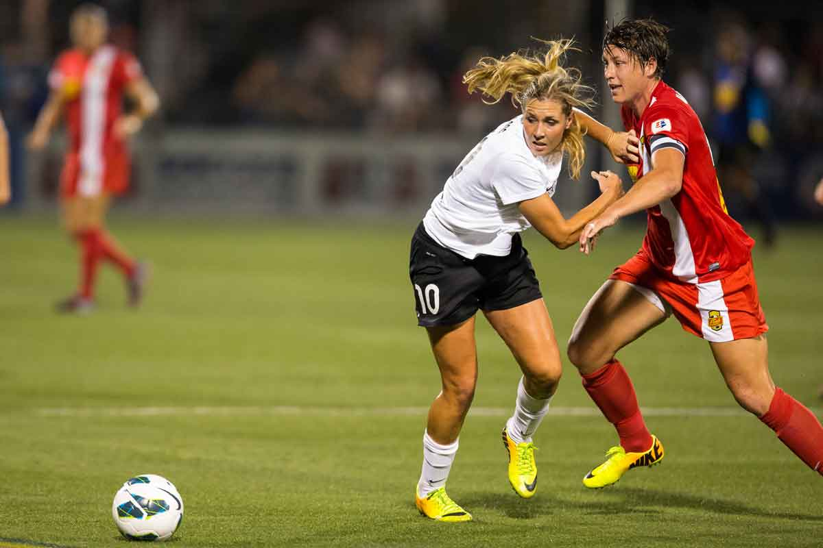 Washington Spirits líder de la NWSL