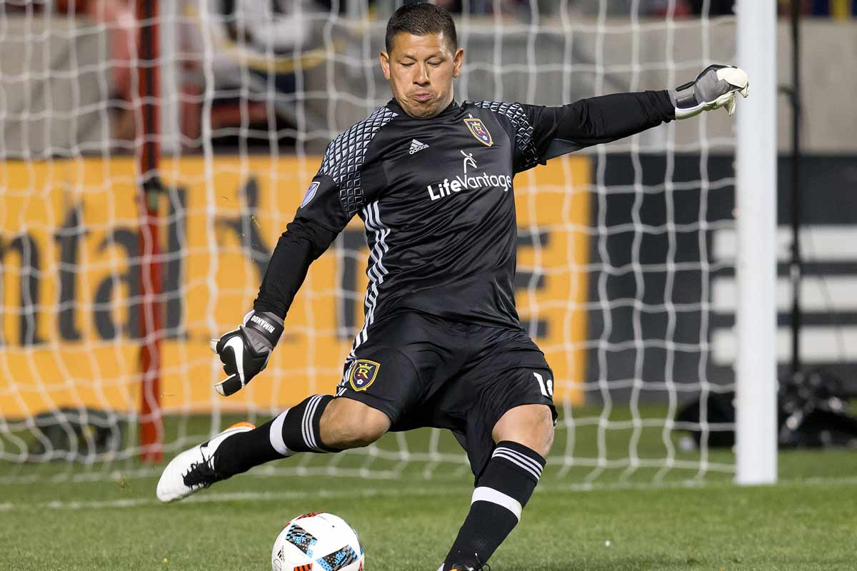 Nick Rimando, portero de Real Salt Lake