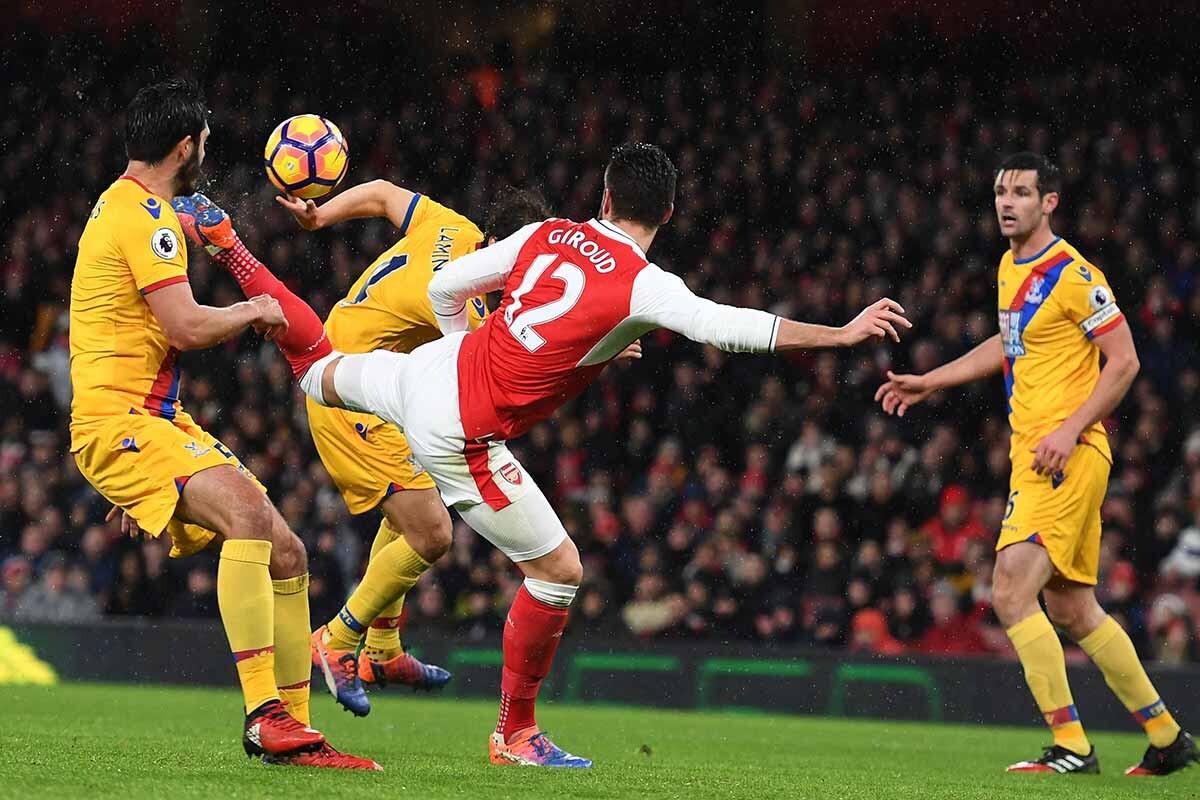 Olivier Giroud, del Arsenal