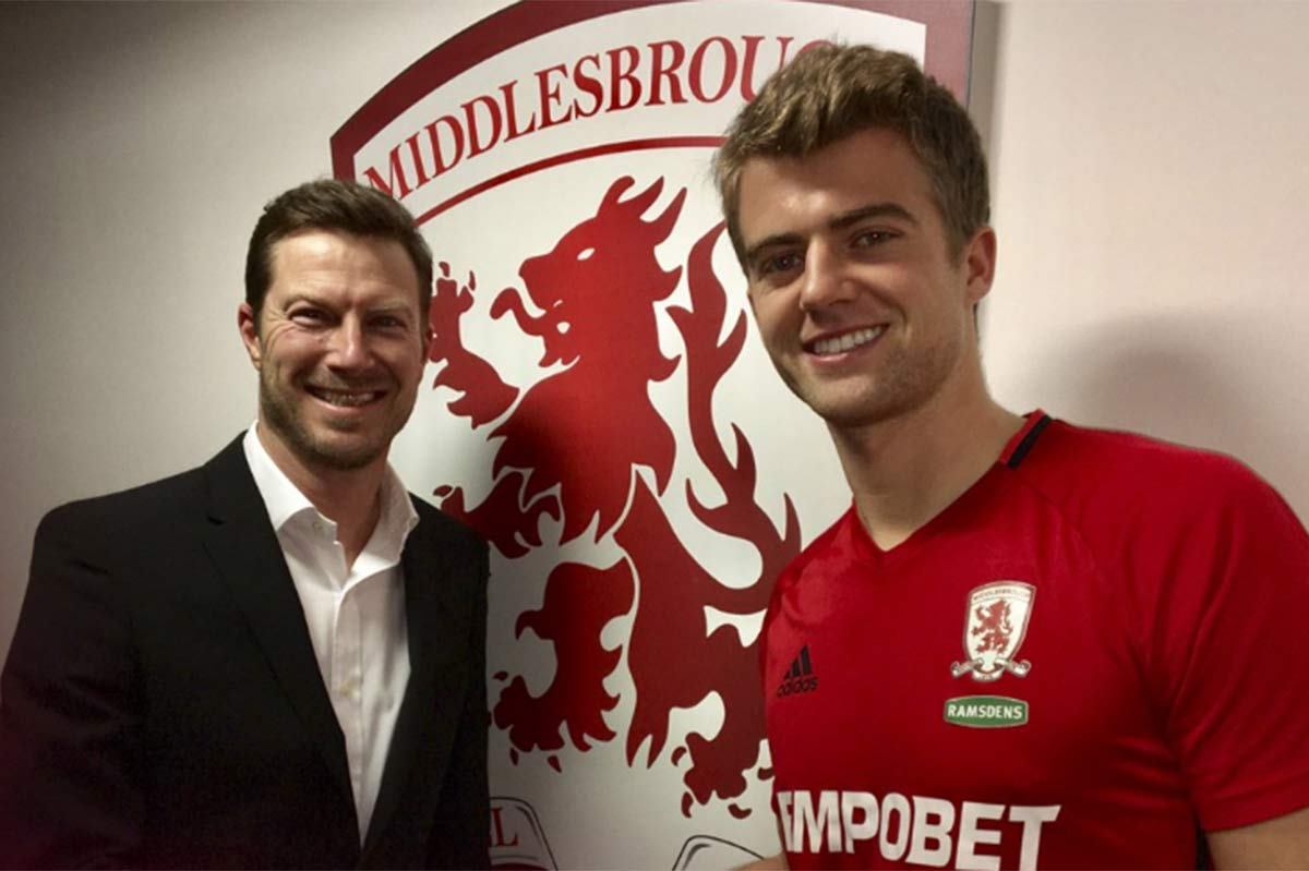 Patrick Bamford, delantero del Middlesbrough
