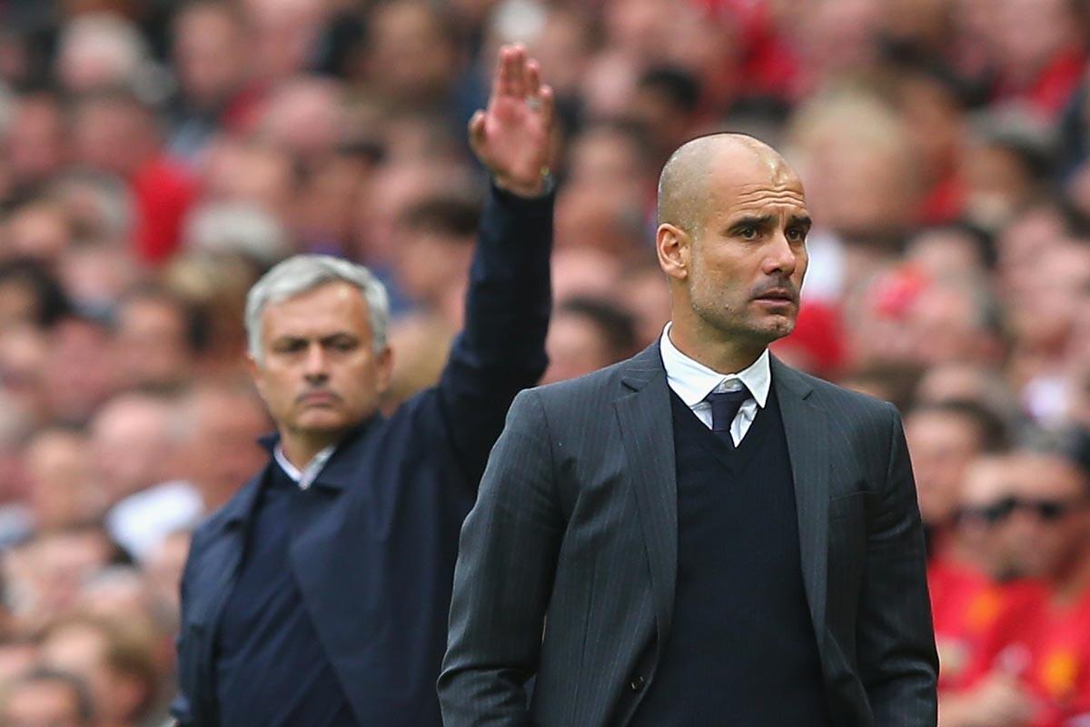 Pep Guardiola y Jose Mourinho