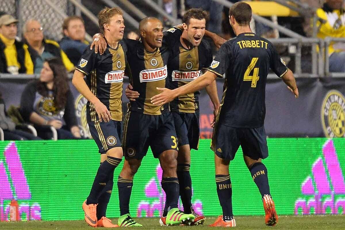 Philadelphia Union celebra un gol