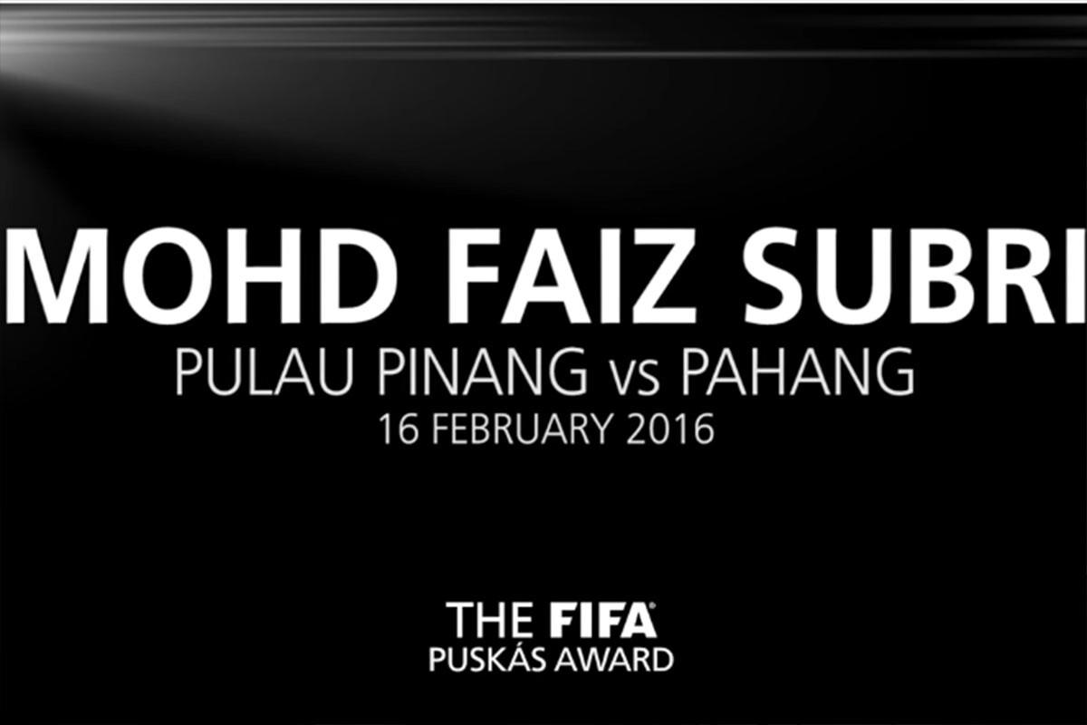 Mohd Faiz Subri, jugador nominado al Premio Puskas