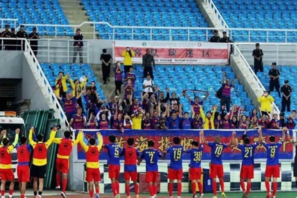 Qingdao Huanghai gana a domicilio