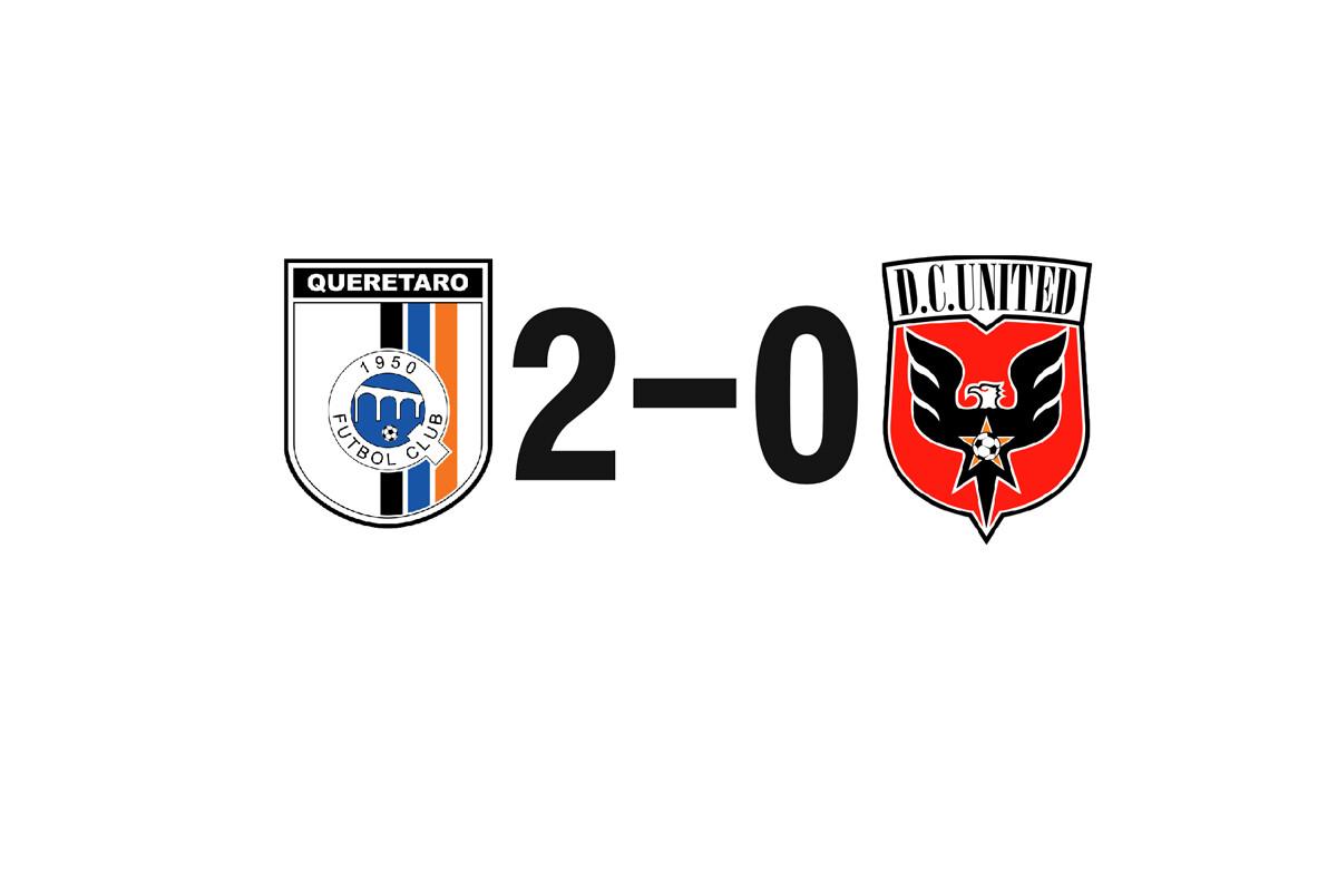 Querétaro 2-0 DC United, partido de cuartos de liga de campeones de la Concacaf