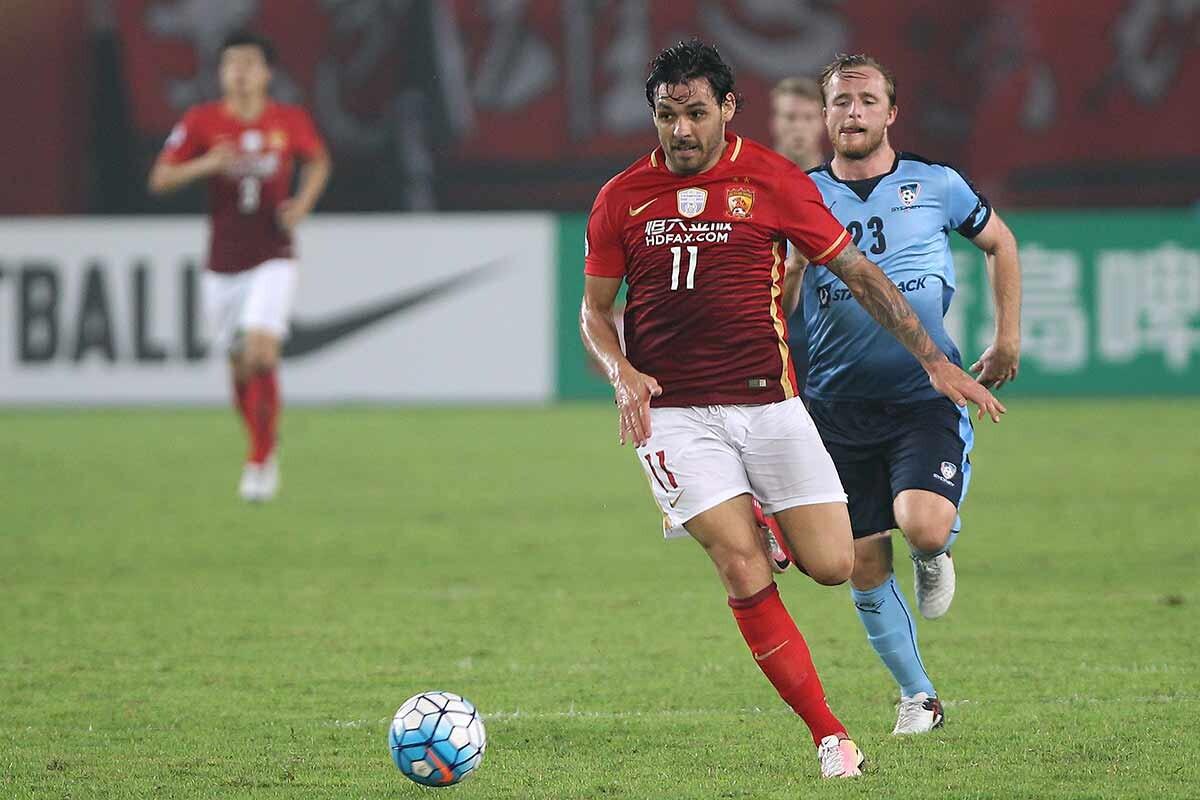 Ricardo Goulart, de Guangzhou Evergrande