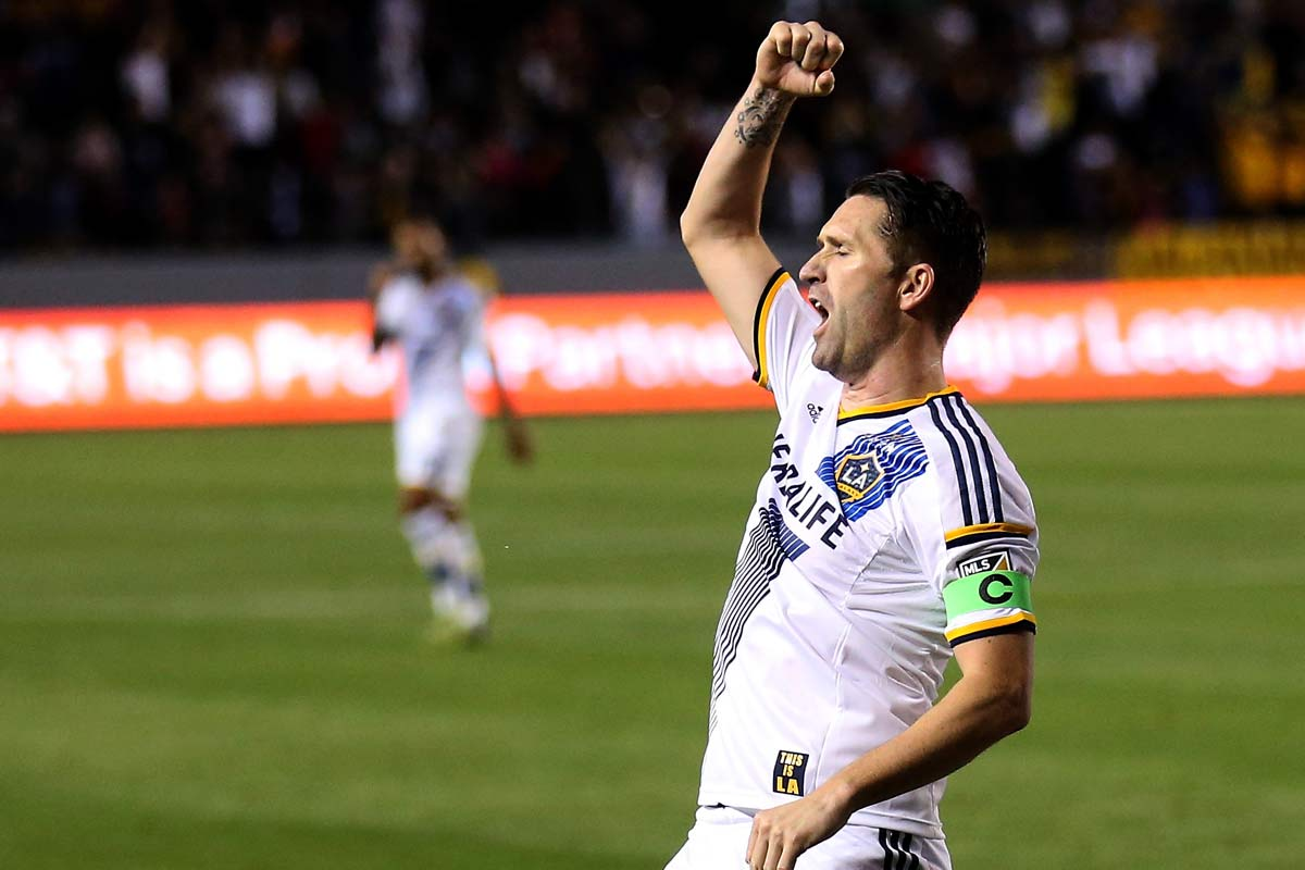 Robbie Keane, de Los Angeles Galaxy
