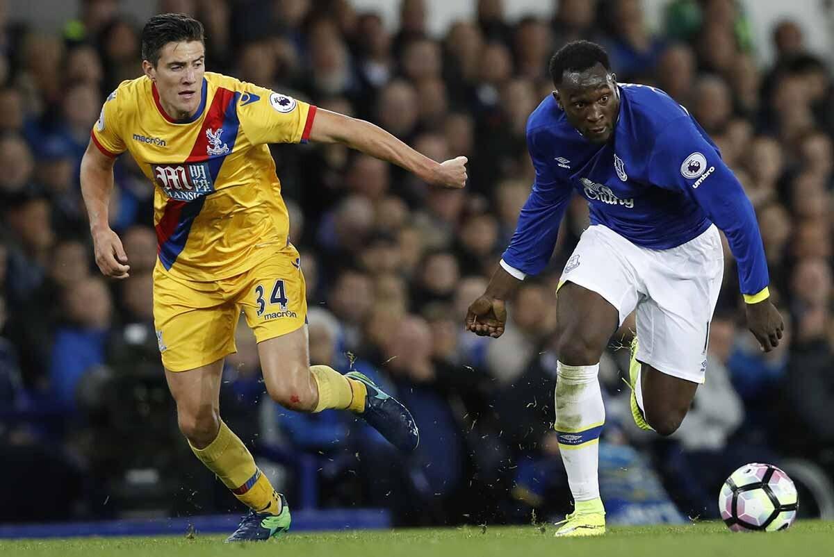 Romelu Lukaku, del Everton