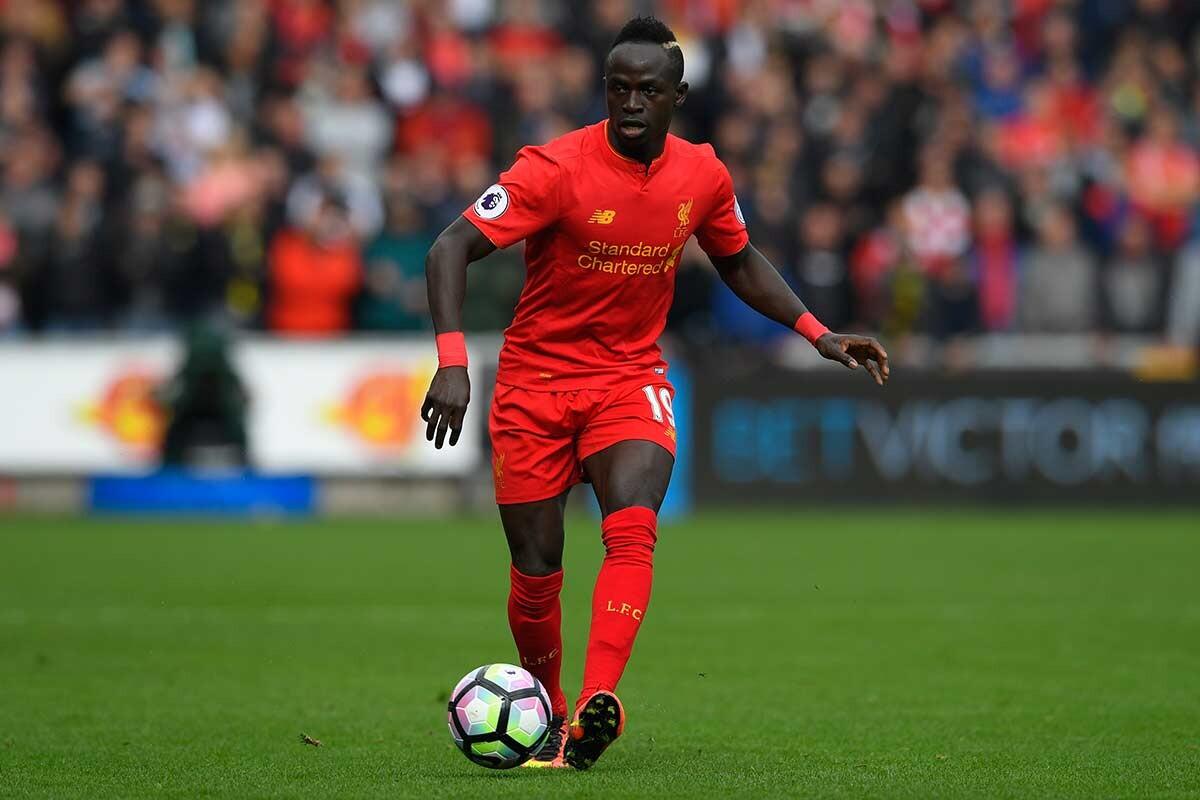Sadio Mane, atacante del Liverpool