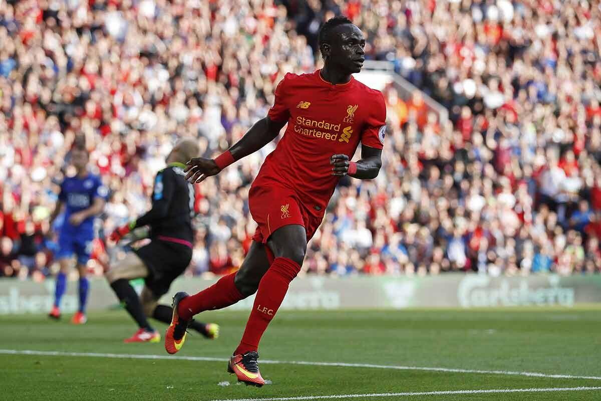 Sadio Mane, del Liverpool