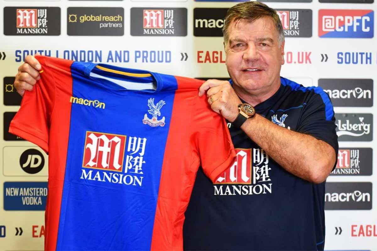 Sam Allardyce. nuevo entrenador del Crystal Palace