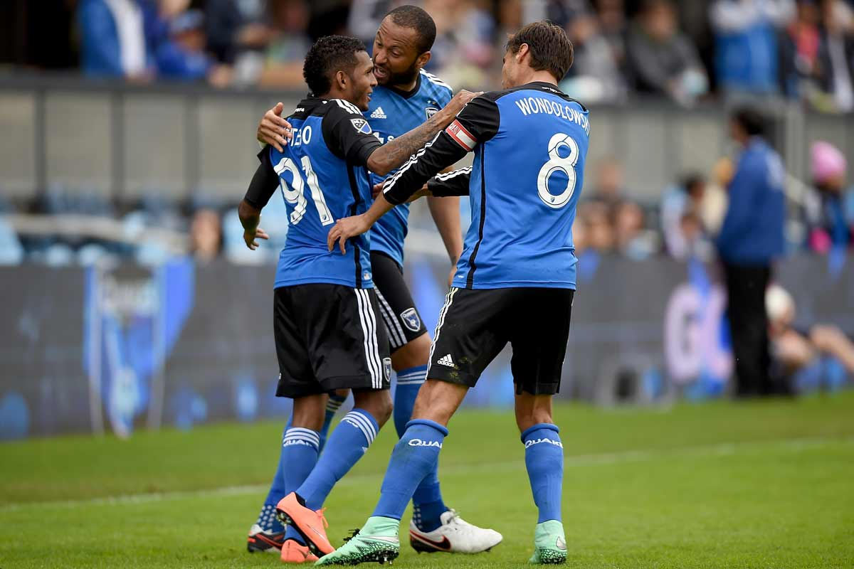 San Jose Earthquakes, de la MLS