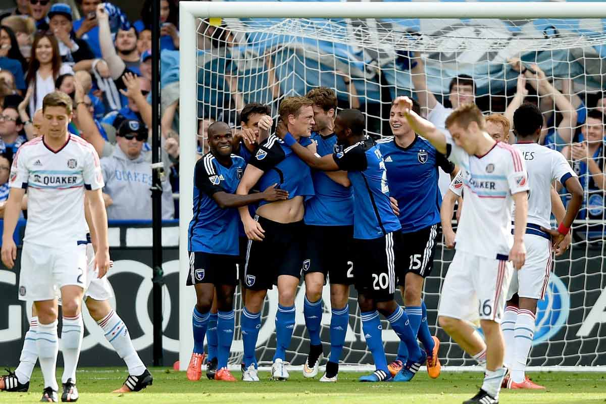 San José Earthquakes de la MLS