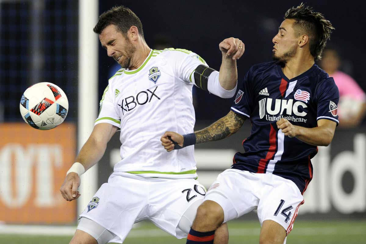 Seattle Sounders ha caído frente a New England Revolution