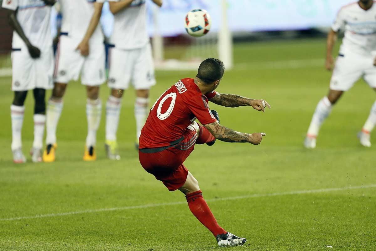 Sebastian Giovinco, con Toronto FC