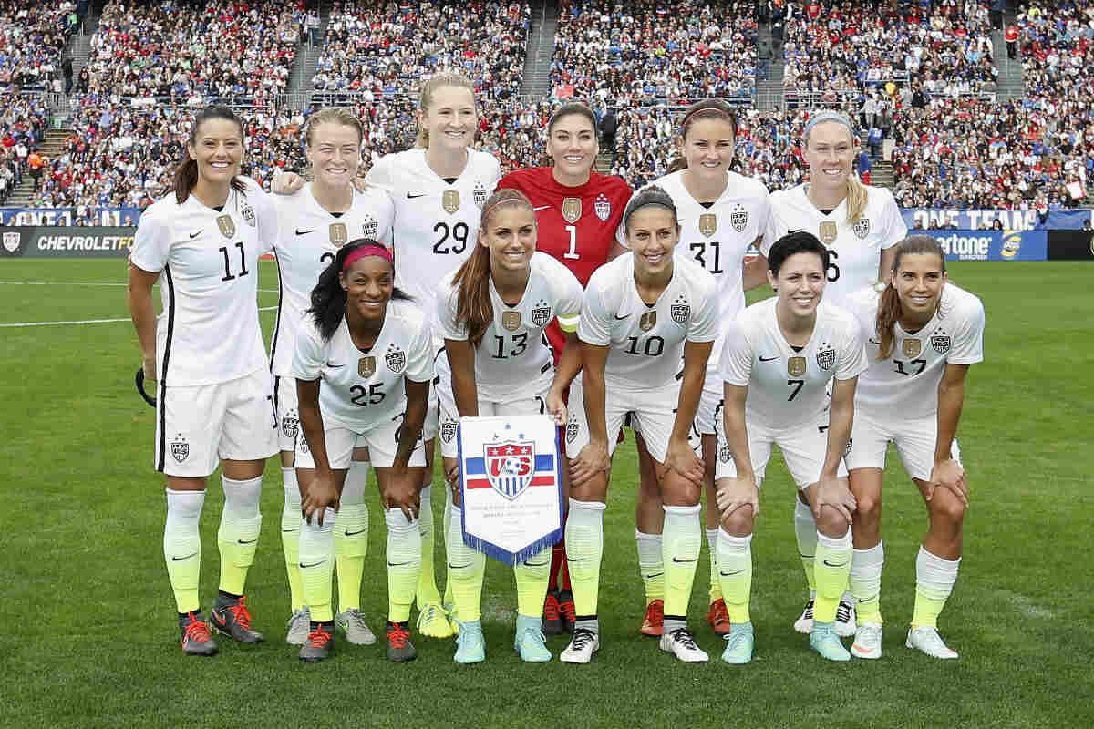 Selección Femenina de los Estados Unidos contra Irlanda