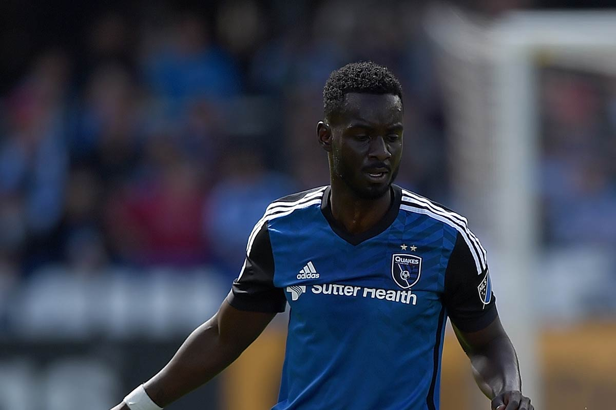 Simon Dawkins, de San Jose Earthquakes