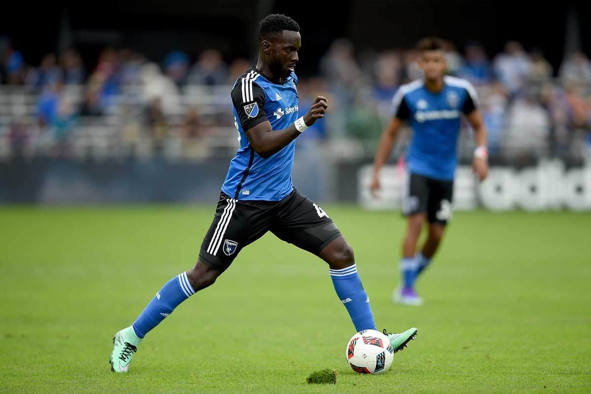 Simon Dawkins, de los San Jose Earthquakes
