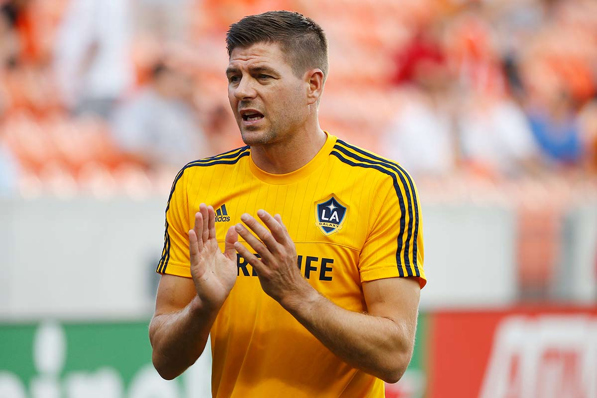 Steven Gerrard, en Los Angeles Galaxy