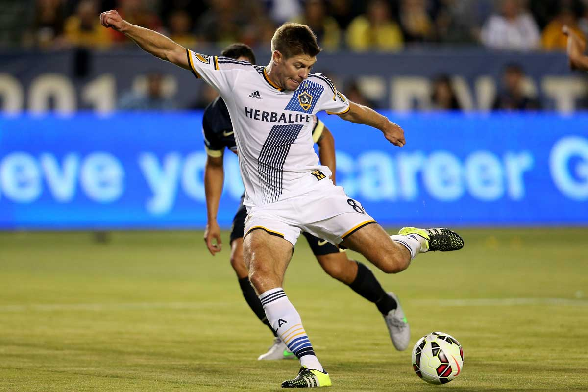 Steven Gerrard, de Los Angeles Galaxy