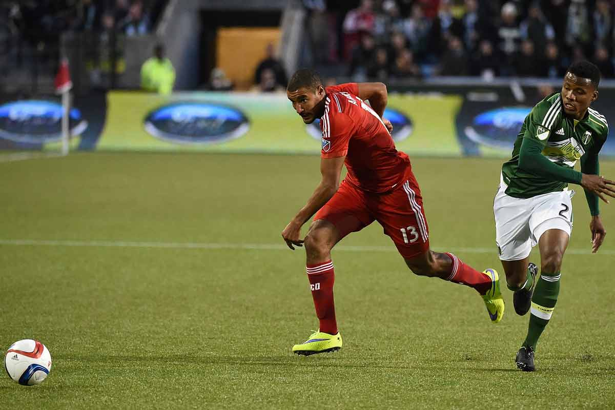 Akindele anotó el empate entre FC Dallas y Columbus Crew