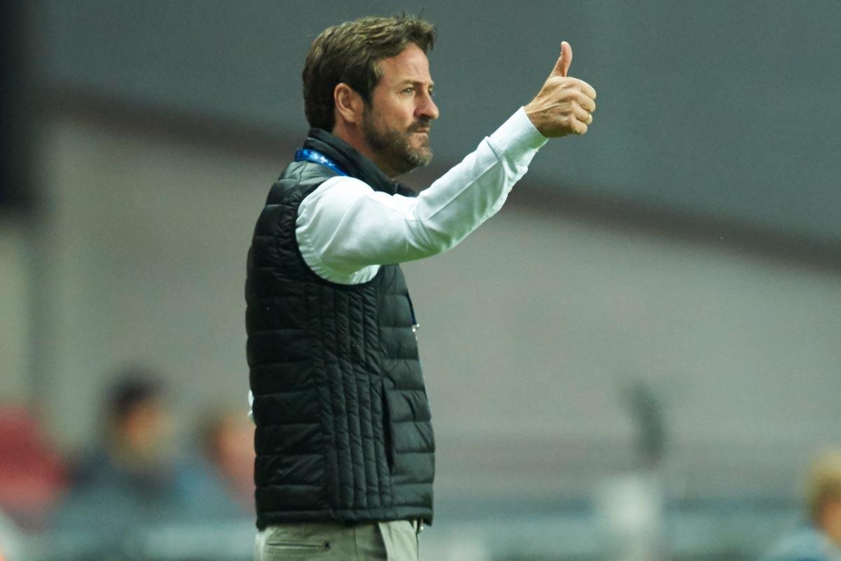 Thomas Christiansen, entrenador del Leeds United