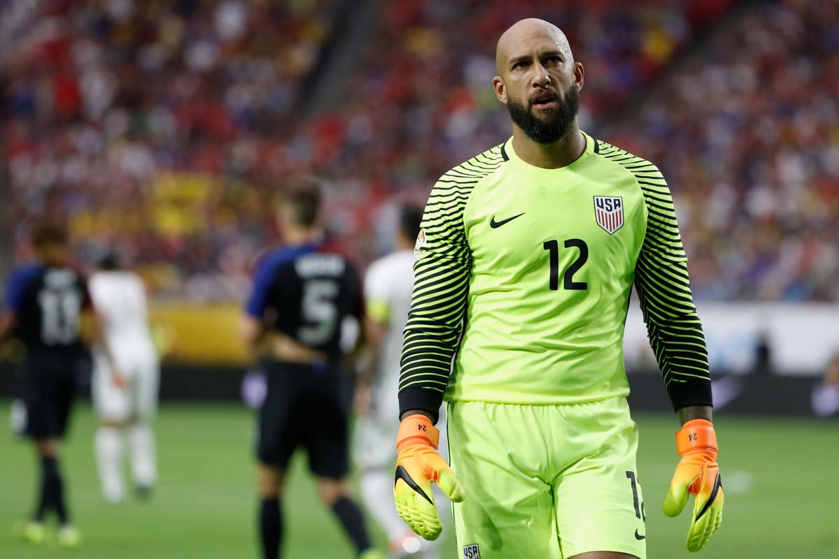 Tim Howard, con Estados Unidos