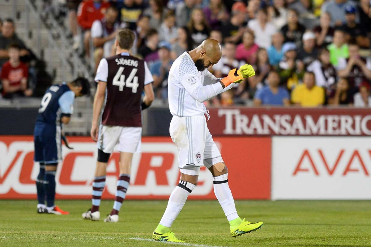 Tim Howard, de Colorado Rapids