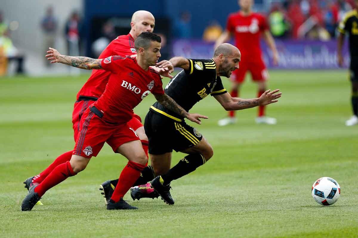 empate entre Toronto Fc y Columbus Crew